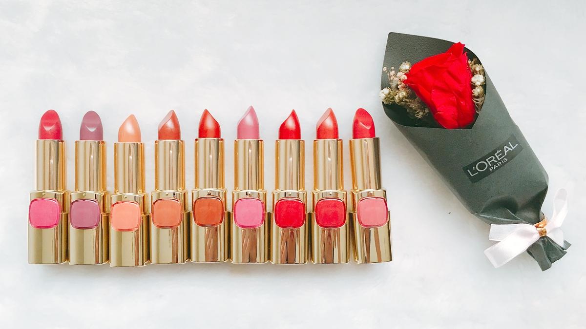 不管肌膚偏黑、偏紅,都能找到適合的「玫瑰色」唇膏,超親民的巴黎萊雅全新純色訂製唇膏不收一支說不過去