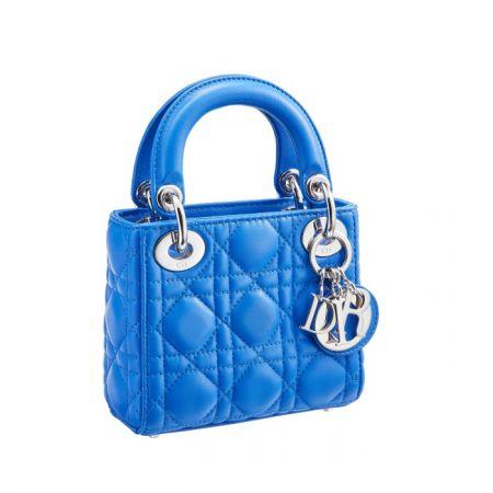 獨賣限定Mini Lady Dior 粉末籃迷你款提包