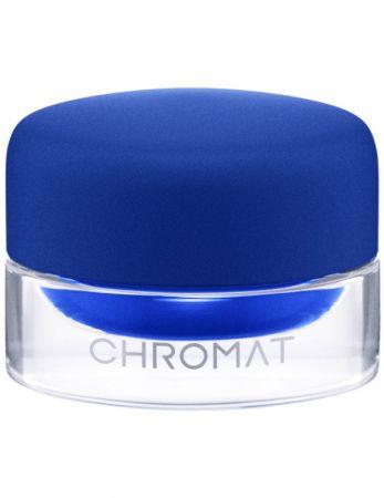 M.A.C粉持色流暢眼線凝霜,6.5g,NT$800 #Aeros Blue 金屬藍