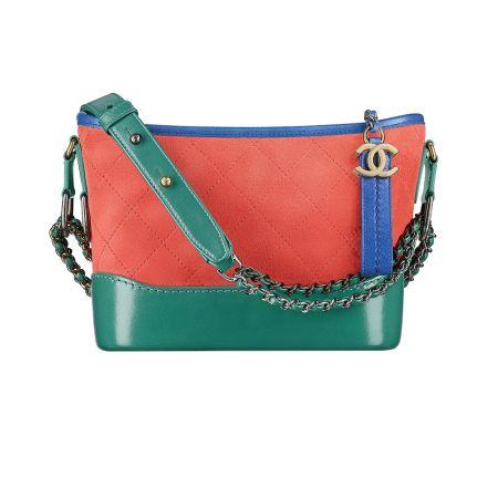 三色麂皮鍊包,Chanel,NT104,900