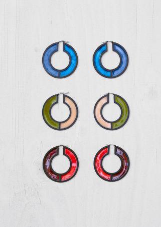 彩色陶瓷耳環,CÉLINE,NT21,000