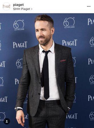 伯爵全球代言人Ryan Reynolds