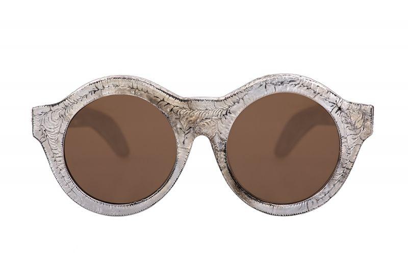 圓形淺褐色鏡片墨鏡,Kuboraum