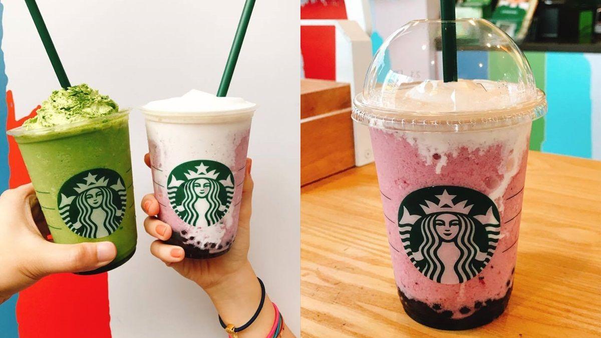 果汁珍珠一入口就爆漿!星巴克推出夏季限定「巴西莓優格星冰樂」、「抹茶優格星冰樂」