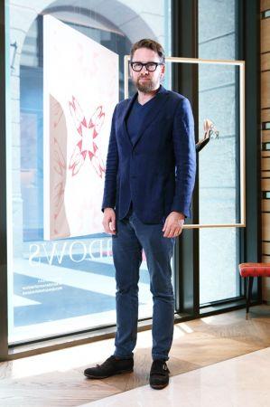 R · SANDERSON品牌共同創辦人暨設計總監Rupert Sanderson