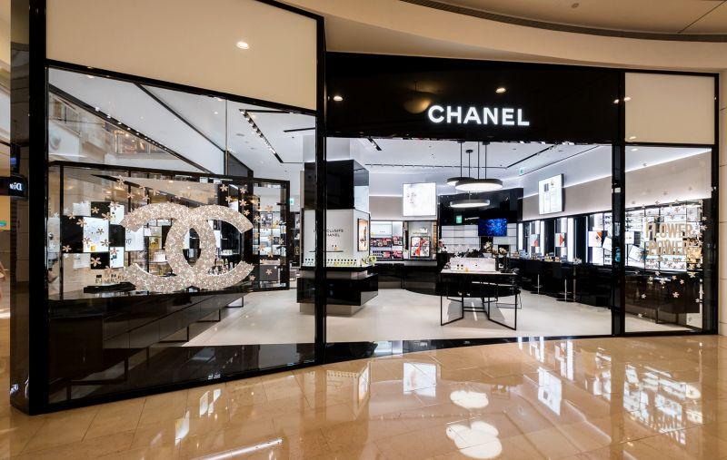 Chanel 台北101 化妝品精品店 外觀