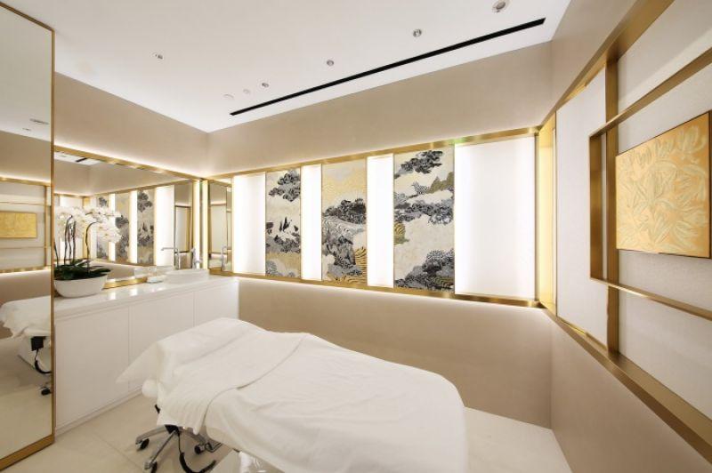 Chanel台北101化妝品精品店 護膚空間