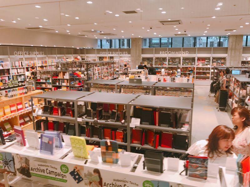 銀座LOFT 5樓主要販售文具和辦公用品。