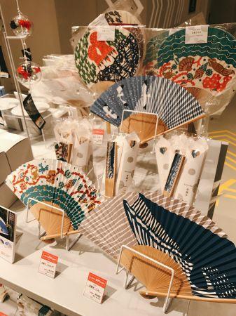 夏日涼扇展,日本風情十足。