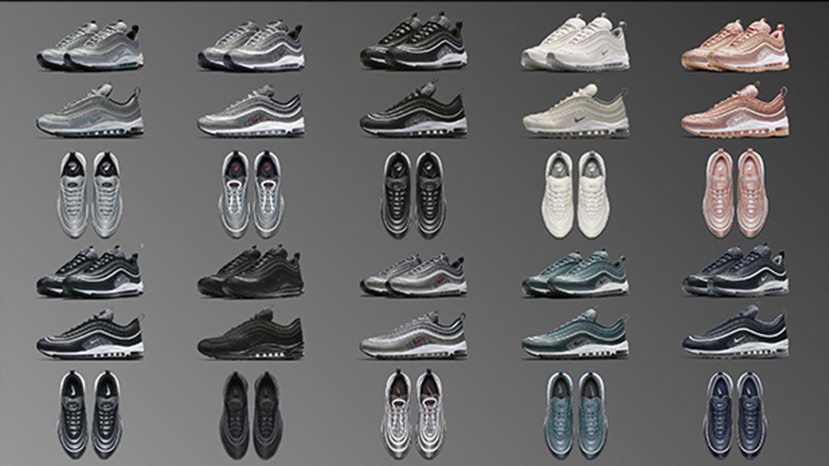 讓女孩一見鍾情的玫瑰金球鞋!Nike Air Max 97秋季十款新色新登場