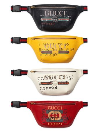 Coco Capitan 限量合作系列腰包(四色 白、紅、黃、黑), NT$ 41,200