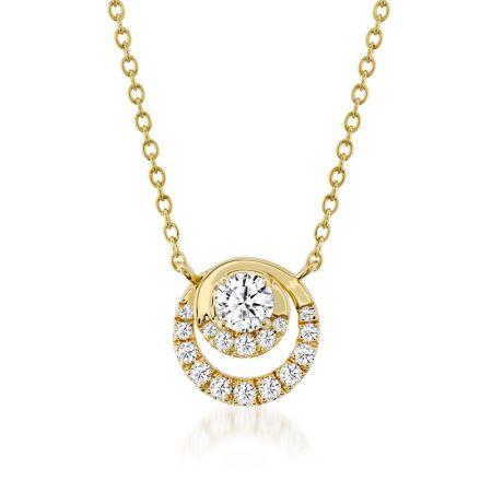 Optima鑽石項鍊,鑽石總重0.38ct 售價$85,000