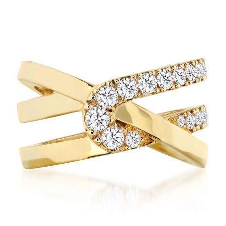 Optima鑽石戒指,鑽石總重0.66ct 售價$175,000