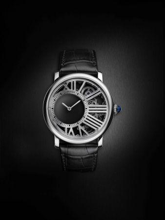Rotonde de Cartier神秘小時鏤空腕錶