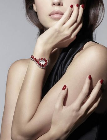 Trait d'eclat 頂級珠寶裝飾腕錶