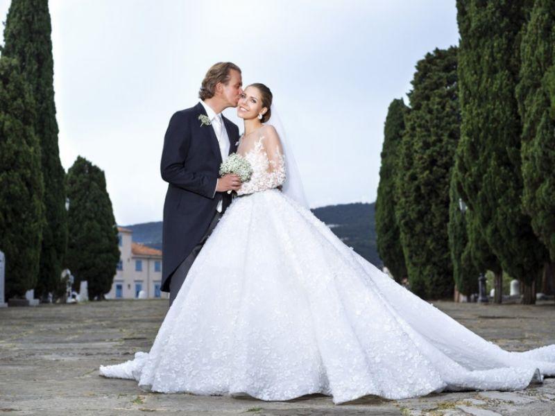 Victoria Swarovski & Werner Muerz