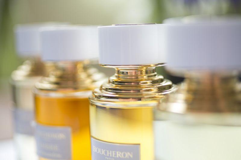 越來越多品牌推出單一花材頂級香水系列,伯敻BOUCHERON「奢華典藏系列」9月上市,125ML,NT7,200。