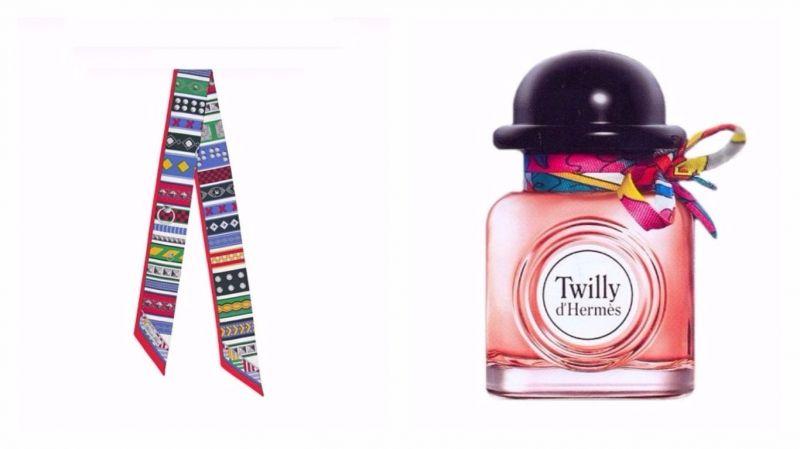Twilly絲巾向來受到年輕消費者喜愛,此次成為Twilly d'Hermès淡香精靈感來源。