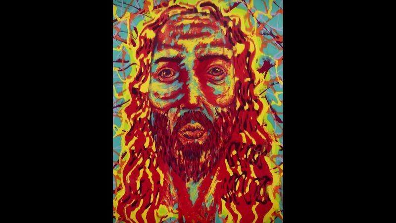 我希望看到畫的人,能感受到神的目光,並且知道祂全然接受你這個人。