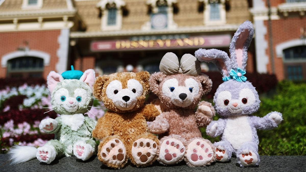 可愛到炸的粉紫色兔兔!達菲新好友StellaLou香港迪士尼樂園登場