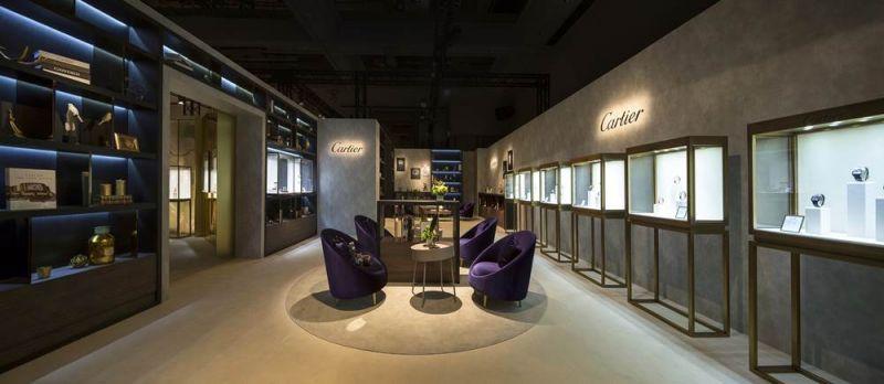 2017 卡地亞珍稀時刻腕錶展-高級製錶展區