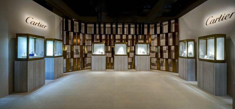 2017 卡地亞珍稀時刻腕錶展-頂級珠寶展區