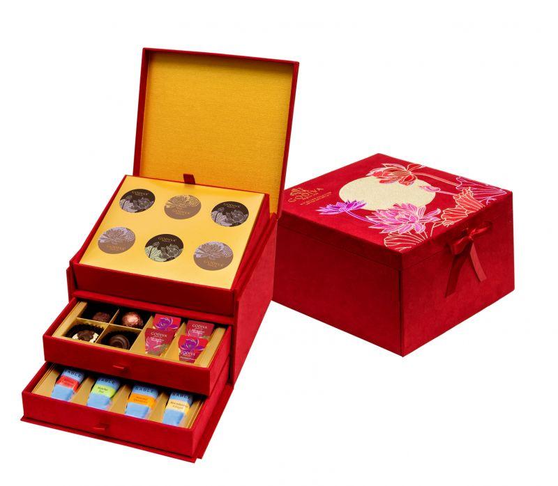 GODIVA中秋節巧克力珠寶禮盒36顆裝NT$5650