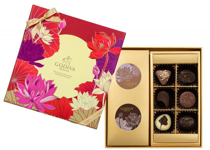 GODIVA中秋節巧克力禮盒8顆裝NT$1350