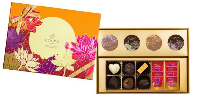 GODIVA中秋節巧克力禮盒18顆裝NT$2780