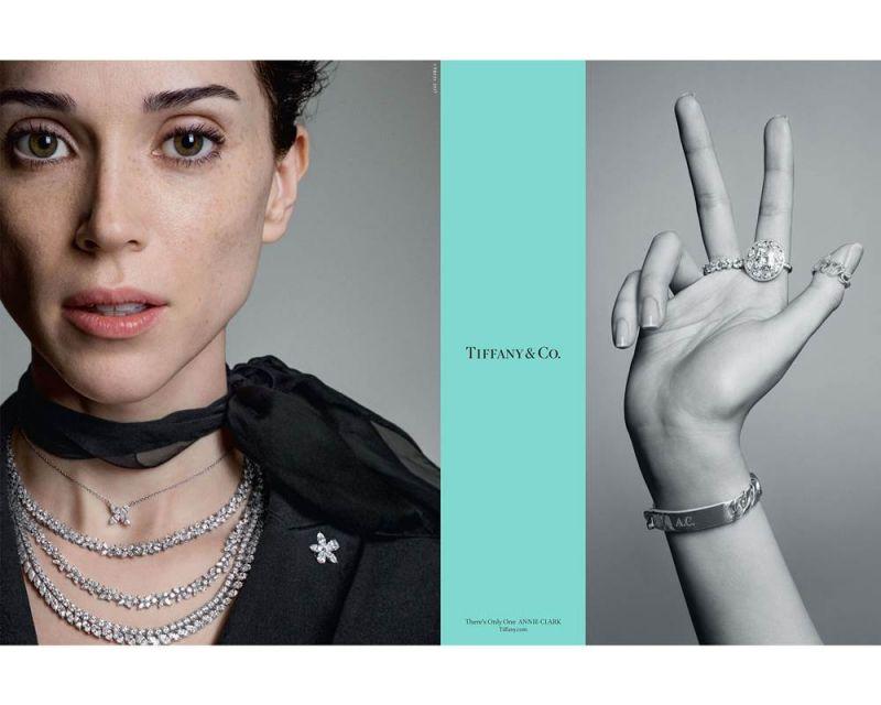 音樂家、創作歌手St. Vincent(本名Annie Clark)優雅演繹Tiffany Victoria系列