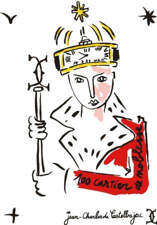 卡斯提巴傑克(Jean-Charles de Castelbajac)- 1994年法國著名服裝設計師卡斯提巴傑克在接受法國週刊《Madame Figaro》採訪時以具詩意又抱有政治色彩的格調表示:「如果所有坦克(TANK)都是卡地亞製作的話,我們早已生活在和平的時代!」© Jean-Charles de Castelbajac