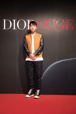 影劇新星蔡凡熙出席Dior For Love搖滾你的唇派對。