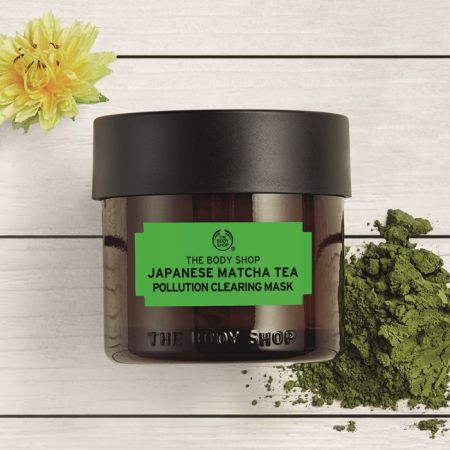 THE BODY SHOP日本抹茶防護抗老面膜,75ml,NT850