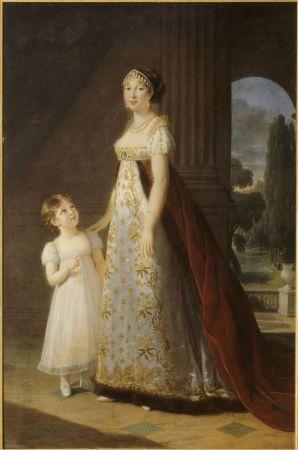 那不勒斯皇后卡洛琳娜繆拉 Caroline Murat