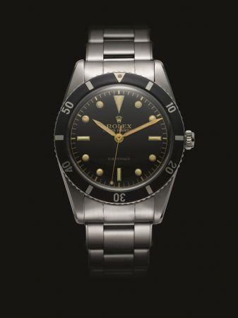 Rolex 於1953年推出首款能防水100米的 Submariner 腕錶