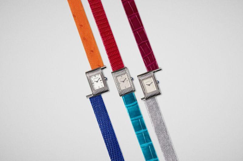 特殊的錶帶快拆及替換機制是 Boucheron Reflet 腕錶的特色