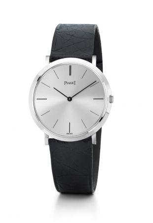 搭載9P超薄手上鍊機芯的 Piaget Altiplano 腕錶