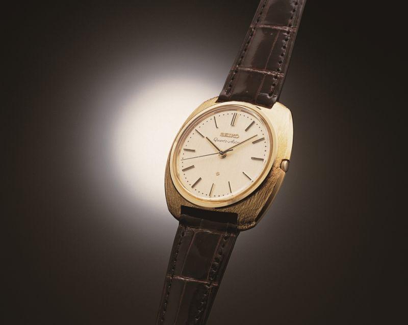 Seiko 於1969年推出世界第一只石英錶 Quartz Astron
