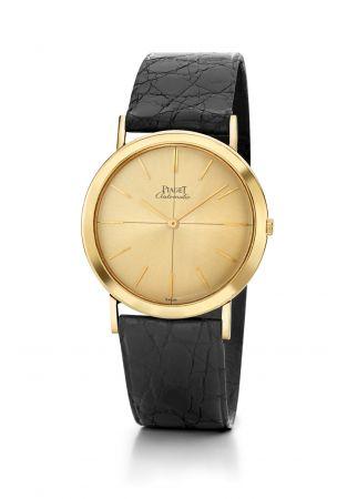 搭載12P超薄自動上鍊機芯的 Piaget Altiplano 腕錶