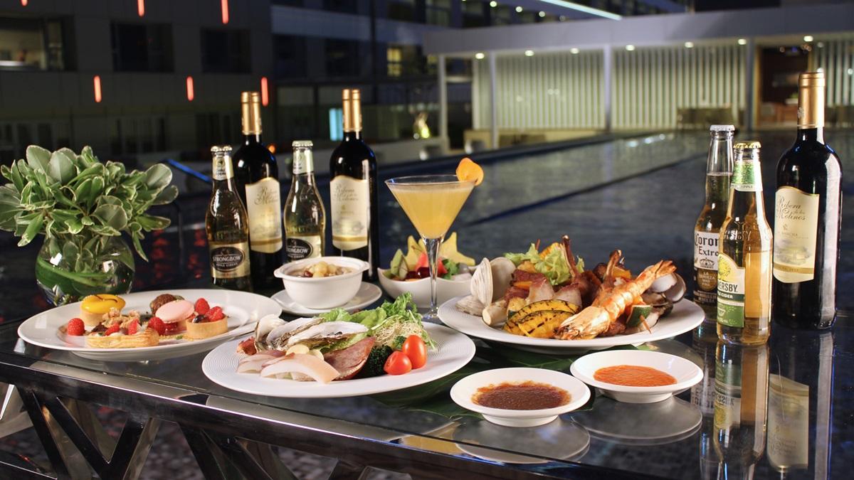 專人服務BBQ、海鮮冷盤!中秋節到台南晶英酒店大開烤肉派對吧