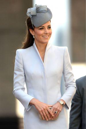 凱特王妃手上的藍寶石戒指傳承自黛安娜王妃。