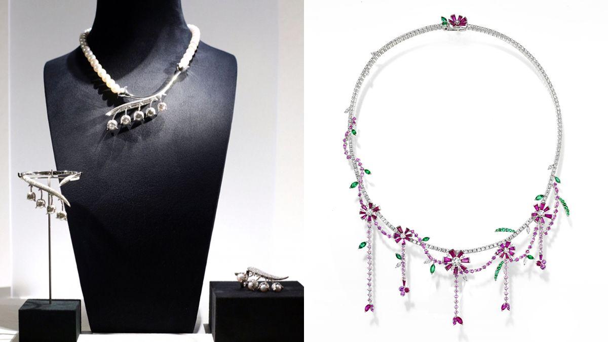 隨風擺動的鈴蘭花、充滿異國風的忘憂草… TASAKI秋冬高級珠寶全新上市
