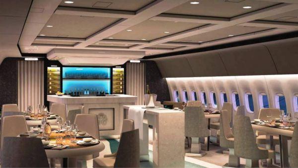 奢華到爆!世界最大波音777開「天空趴」 138萬就登機