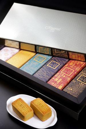 晶華酒店《賞月》迷你桃山月餅禮盒