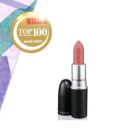 M.A.C時尚專業唇膏 NT$750全新滋潤配方讓雙唇同時享受滋潤,卻又充滿飽和的色彩。