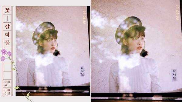 IU第二張翻唱專輯《花書籤2》9/22開賣!懷舊第一張翻唱專輯封面照公開