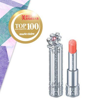 JILL STUART花舞水漾光唇膏 NT$880添加獨創奢華光燦精華油,提高唇膏服貼度,長時間維持美麗的光澤及色彩。