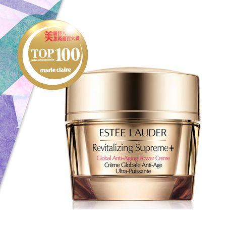 Estée Lauder年輕肌密無敵霜 NT$3,800全方位、質地清爽的抗老無敵霜,富含細膩微亮的粉紅珍珠光澤,可達到醒膚效果,也適合拿來當作妝前打底使用。