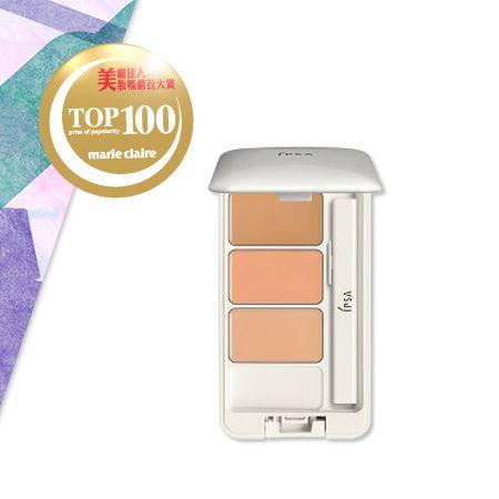 IPSA誘光隱色遮瑕組 NT$1,200三色一組的遮瑕組, 可自在調出適合自己的膚色, 輕鬆遮蓋肌膚的色差與小瑕疵。