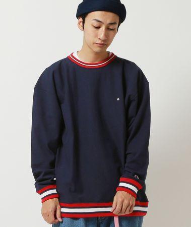 CHAMPION×BEAMS/別注 Lining Reverse Weave售價:新台幣7,980元 ,預計販售日期:10月上旬